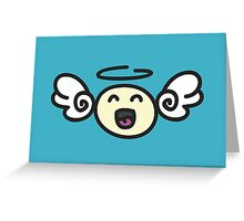 Doodle Angel Greeting Card