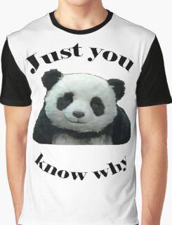 Panda Cheese Graphic T-Shirt