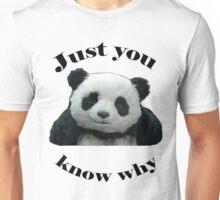Panda Cheese Unisex T-Shirt