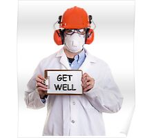Get Well Please Poster