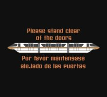 Please Stand Clear of the Doors Baby Tee