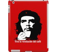 Viva la revolucion del cafe! iPad Case/Skin