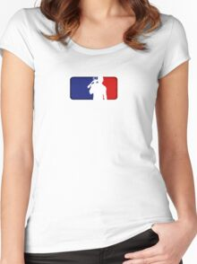 Major League Redneck Women's Fitted Scoop T-Shirt