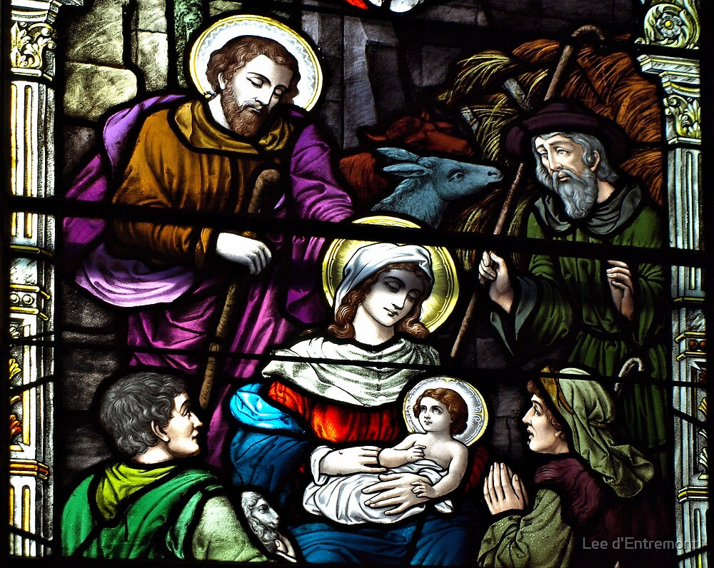 Celebrate the birth of Christ. by Lee d'Entremont