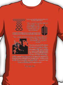 Harry Potter / Sherlock / Torchwood / Merlin / Doctor Who fandoms T-Shirt