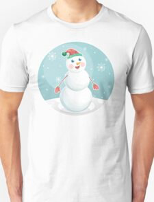 Snowman Unisex T-Shirt