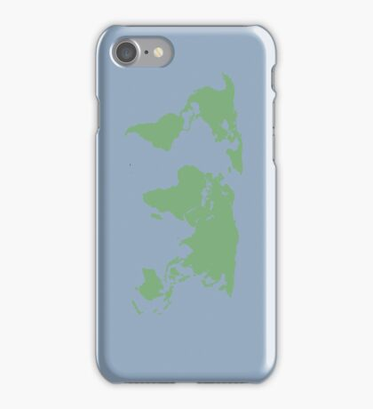 World Map. iPhone Case/Skin