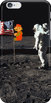 Super Mario On the Moon