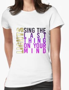LIGHTS - The Last Thing On Your Mind w/ colour T-Shirt