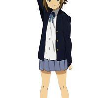 K-On! - Ritsu Tainaka - School Uniform and Drum Sticks (RENDER) by frictionqt