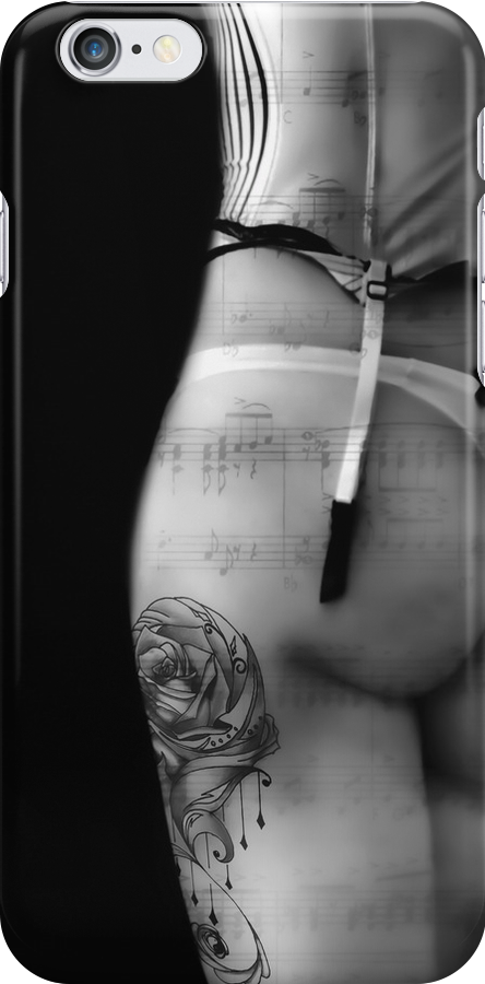 TATTOOED CURVES - Iphone Case by Rob  Toombs
