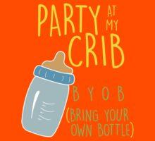 Party At My Crib Kids Tee