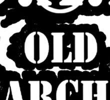 O.A.P - OLD ANARCHIST PUNK Sticker