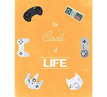 The Circle Of Video Games Photographic Print