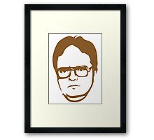 Dwight Kurt Schrute Framed Print