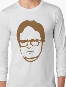 Dwight Kurt Schrute Long Sleeve T-Shirt