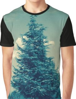 Vintage Tree Graphic T-Shirt