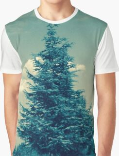Vintage Tree Graphic T-Shirt