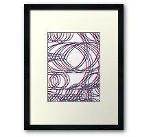 Linework Framed Print