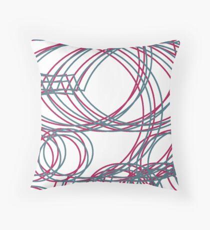 Linework Throw Pillow