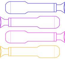 Portafilter Colors Sticker