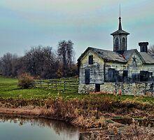 Star Barn Pennsylvania by Val Dunn