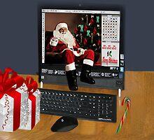 *•.¸♥♥¸.•* FROM MY COMPUTER 2 YOUR COMPUTER WISHING U A MERRY CHRISTMAS IPAD CASE *•.¸♥♥¸.•*  by ✿✿ Bonita ✿✿ ђєℓℓσ