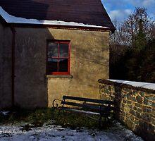 Quiet Corner, Winter Scene, County Down by Laura Butler