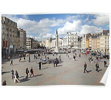 grand place lille Poster