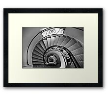 staircase - mercure central lille Framed Print