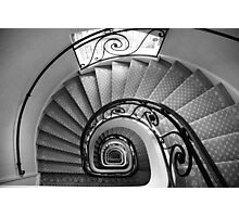 staircase - mercure central lille Photographic Print