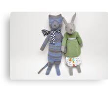 Sam and Bunny Canvas Print