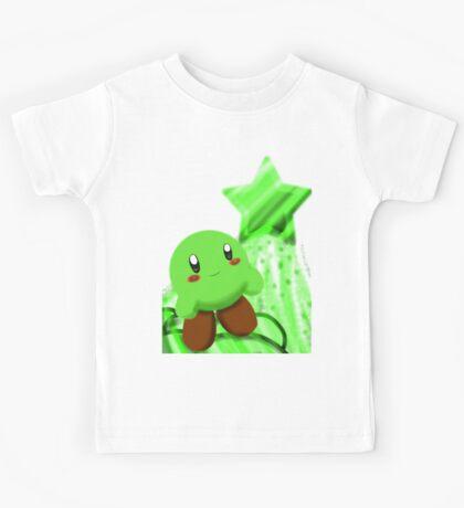 Green Kirby Kids Tee