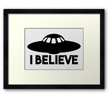 I Believe #2 Framed Print