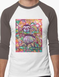 Sloth Love Men's Baseball ¾ T-Shirt