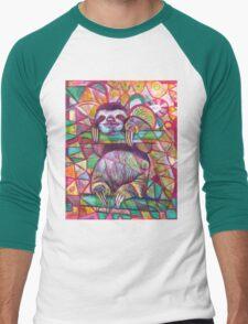 Sloth Love Men's Baseball ¾ T-Shirt