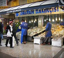 Fish market in Ankara by rasim1