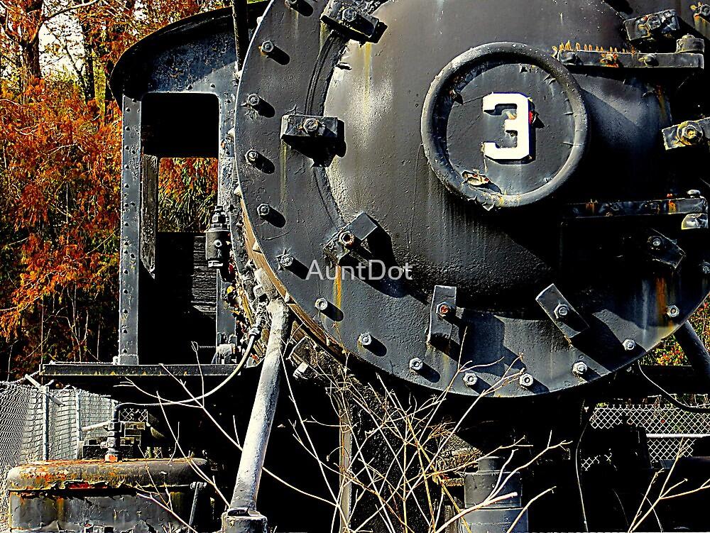 Retired Locomotive by AuntDot
