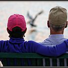 Bird Watching at Sunset by Mikell Herrick