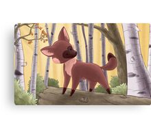 Fox's Forest Canvas Print