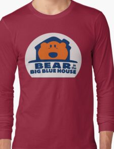 Bear in the Big Blue house Long Sleeve T-Shirt
