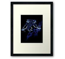 Lightning Bear V1 Framed Print