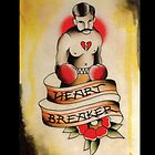 Heart Breaker iphone Case by Nate Luna
