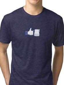 'Like' a Barista Tri-blend T-Shirt