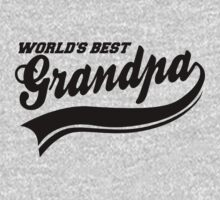 WORLD'S BEST GRANDPA by mcdba