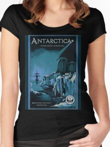Antarctic Expedition Women's Fitted Scoop T-Shirt