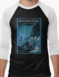 Antarctic Expedition Men's Baseball ¾ T-Shirt