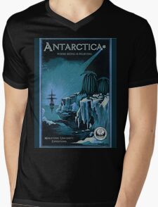 Antarctic Expedition Mens V-Neck T-Shirt