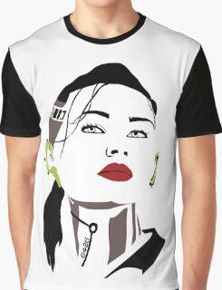 Mass Effect  - Jack : Subject Zero Graphic T-Shirt