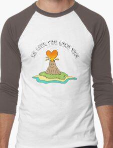 Me Lava You Long Time Men's Baseball ¾ T-Shirt